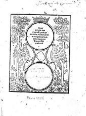 Opus insigne beati patris Cyrilli in Evangelium Joannis