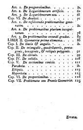 Mathesis prima elementa: ad usum Seminarii Episcopalis Barcinonensis edita