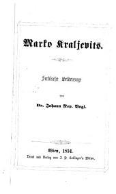 Marko kraljevits, serbische Heldensage