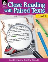 Close Reading with Paired Texts: Engaging Lessons to Improve Comprehension