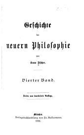 Geschichte der neueren Philosophie: Band 4