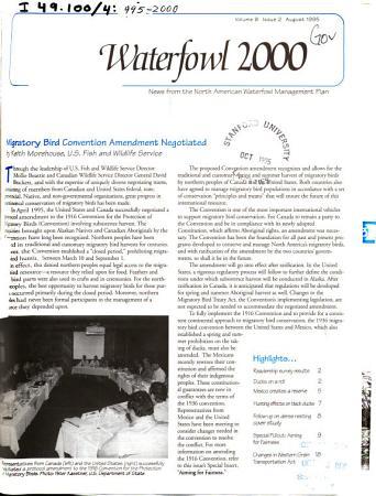 Waterfowl 2000 PDF