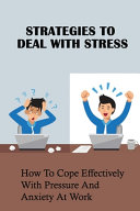 Strategies To Deal With Stress PDF