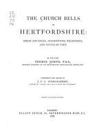 The Church Bells of Hertfordshire PDF