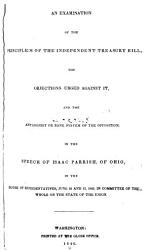 Volume Of Speeches Delivered In Congress 1840 Book PDF