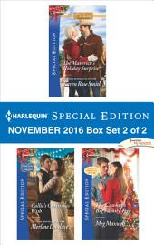 Harlequin Special Edition November 2016 Box Set 2 of 2: The Maverick's Holiday Surprise\Callie's Christmas Wish\The Cowboy's Big Family Tree