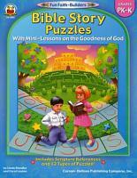 Bible Story Puzzles  Grades PK   K PDF