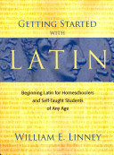 Getting Started with Latin Book