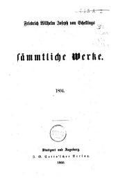 Friedrich Wilhelm Joseph von Schellings Sämmtliche Werke: Band 9