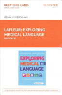 Exploring Medical Language   Elsevier eBook on VitalSource  Retail Access Card  PDF
