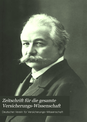 German journal of risk and insurance: Band 7