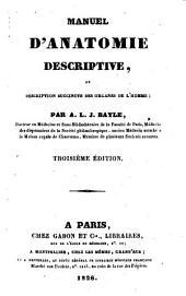 Manuel d'anatomie descriptive, ou Descriptive succincte des organes de l'homme