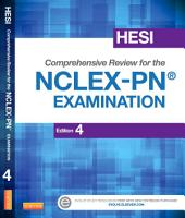 HESI Comprehensive Review for the NCLEX-PN® Examination - E-Book: Edition 4