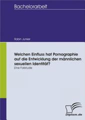 Welchen Einfluss hat Pornographie auf die Entwicklung der männlichen sexuellen Identität?: (Eine Fallstudie)