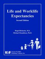 Life and Worklife Expectancies PDF