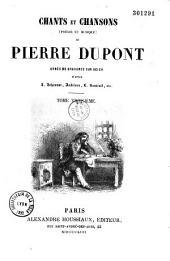 Chants et Chansons (Poésie et Musique) de Pierre Dupont