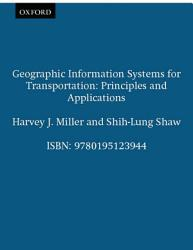 Geographic Information Systems for Transportation PDF