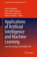 Applications of Artificial Intelligence and Machine Learning PDF