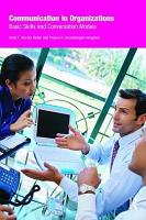 Communication in Organizations PDF