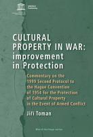 Cultural property in war  improvement in protection PDF