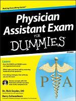 Physician Assistant Exam For Dummies, with CD