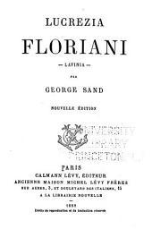 Oeuvres complètes de George Sand: Lucrezia Floriani. Lavinia