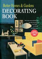 Better Homes and Gardens Decorating Book PDF