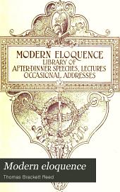 Modern Eloquence: Volume 4