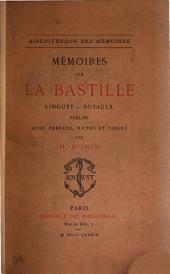 Mémoires sur la Bastille