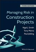 Managing Risk in Construction Projects PDF