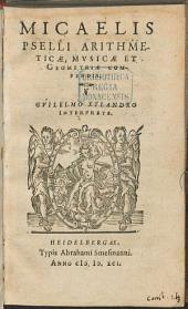 Arithmeticae, musicae et geometriae compendia