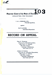 New York Supreme Court Appellate Term