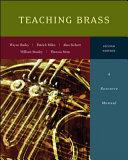 Teaching Brass  A Resource Manual PDF