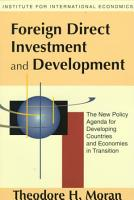 Foreign Direct Investment and Development PDF