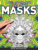Venetian Masks Adults Coloring Book PDF