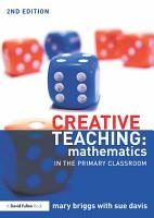 Creative Teaching  Mathematics in the Primary Classroom PDF