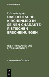 Mittelalter und Reformationszeit