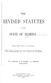 The Revised Statutes of the State of Florida