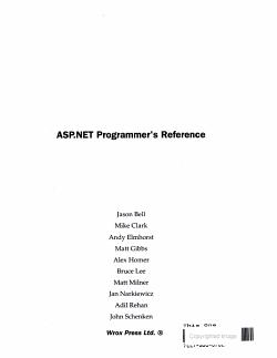 ASP NET PRO RE  PDF