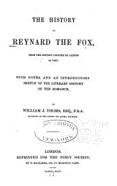 The History of Reynard the Fox: From the Edition Printed by Caxton in 1481, Issue 2