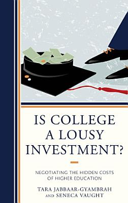 Is College a Lousy Investment  PDF