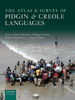 The Atlas of Pidgin and Creole Language Structures PDF