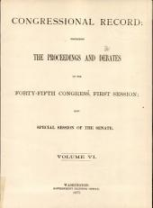 Congressional Record: Proceedings and Debates of the ... Congress, Volume 6