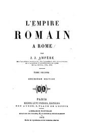L'empire romain à Rome: Volume1