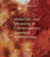 Materials and Meaning in Contemporary Japanese Architecture PDF