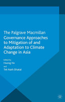 Governance Approaches to Mitigation of and Adaptation to Climate Change in Asia PDF