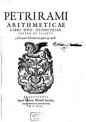 Arithmetica et Geometria