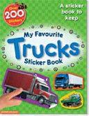 My Favourite Trucks Sticker Book