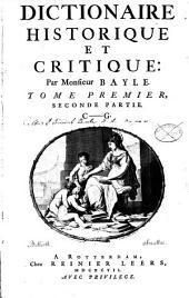 Dictionnaire Historique Et Critique: C - G. 1,2