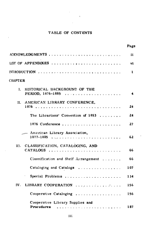 Trends and Issues in American Librarianship as Reflected in the Papers and Proceedings of the American Library Association  1876 1885 PDF